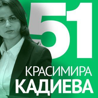 51/ Адв. Красимира Кадиева – За авторското право, запазените марки и договори за дизайнери.